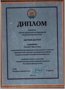 диплом салимова